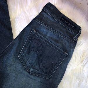 Rock & Republic Berlin Dark Skinny Jeans Size 8